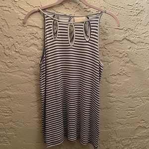 ModCloth Sleeveless Top with Keyhole Detail Size S